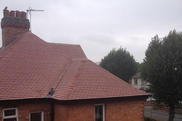 Dry Valley, Plain Tiles and Velux window